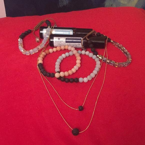 Bracelets and Oil combo